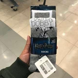 Master Dobby (Harry Potter) Set of 3 Socks