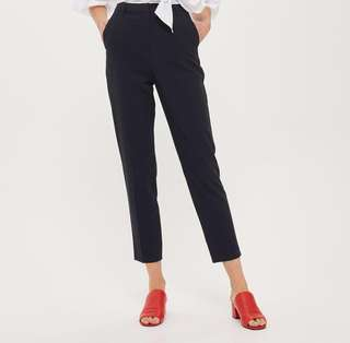 Top Shop Trousers (US 4/Navy)