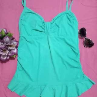Bluegreen Swimdress with bikini