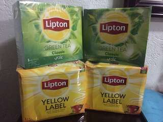 Lipton /100pcs tea bag per box
