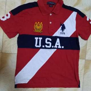 USPA Polo shirt authentic youth size