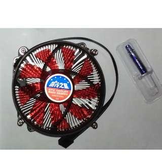 CPU cooler (Red LED)