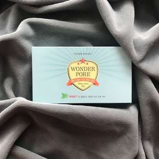 "ETUDE HOUSE ""WONDER PORE"" mini kit"