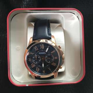 Brand new Fossil Watch Quartz with Chrono