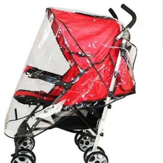Waterproof Stroller Rain Cover Wind Dust Shield Pushchair Cover