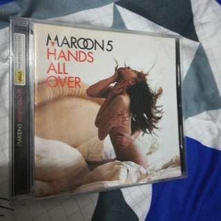 Maroon 5 Hands All Over Album (PHP Edition)