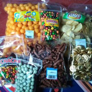 Cemilan snack dan coklat