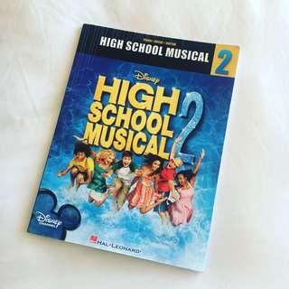High School Musical 2 Piano/Vocal/Guitar Book