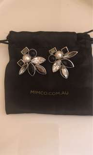 Mimco statement earrings