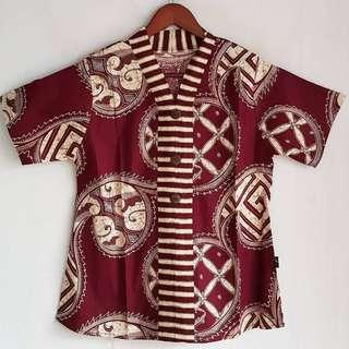 3button katarina Batik top