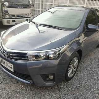 2015 toyota corolla altis 1.6V automatic ( top of the line)
