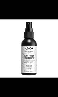 Nyx setting spray matte & dewy