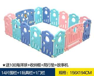 Baby safety playpen