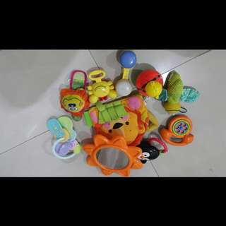 Assorted Infant Toys for FunPlay Activities