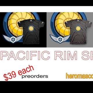 Pacific rim shirt gypsy avenger danger