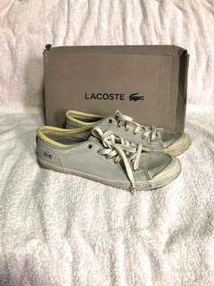 Lacoste rubber shoes