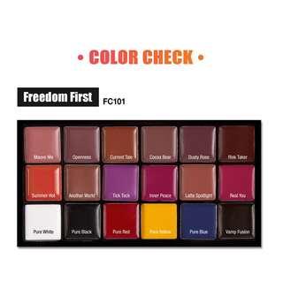 J.Cat Beauty Freedom Creator Mix Lip Palette (Freedom First)