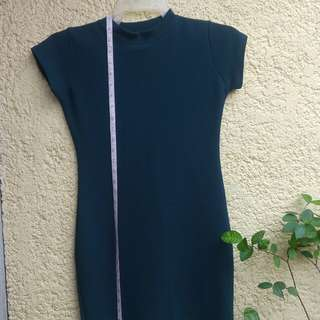 Emerald Green Bodycon Dress