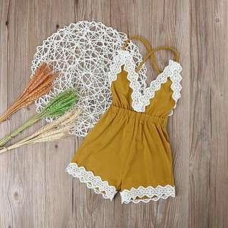 Laced Summer Romper