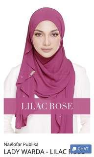 BN Authentic Lady Warda by Naelofar Hijab