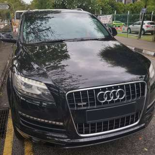 Limited Offer! Audi Q7 (7-Seater SUV)