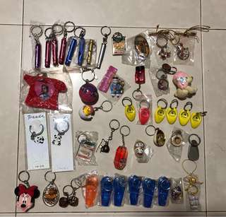 Key chain collection each $2
