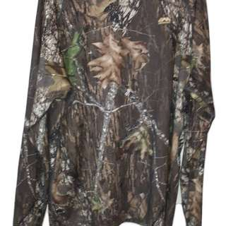 Euc 2XL MEDALIST REAL TREE CAMO LONG SLEEVE PULLOVER