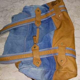 Denim Shoulder Bag