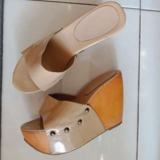 Wedges size 38 , 8cm an