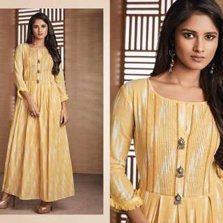 LONG GOWN Type  KURTI