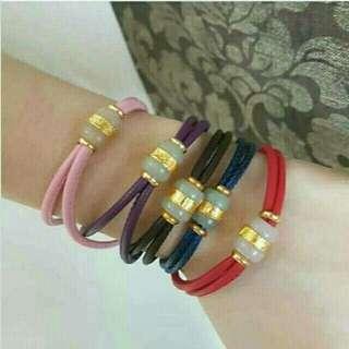 Best Kind Authentic Jade Leatherette Bracelet