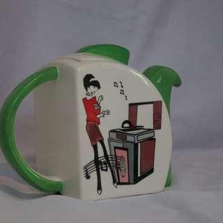 Retro designer Teapot