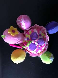 Infantino cot stroller toy