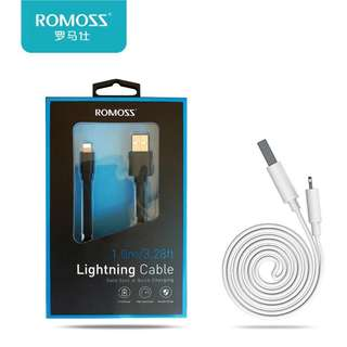 Romoss Lighting iPhone Cable (1M Black)