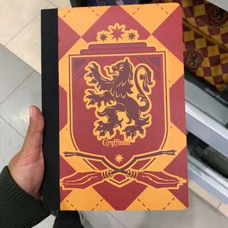 Gryffindor / Ravenclaw / Slytherin Notebook