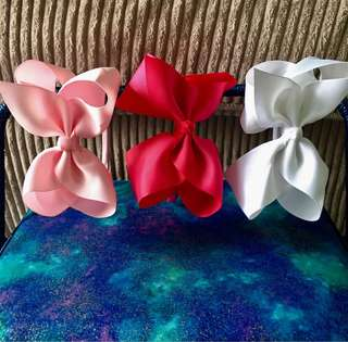 Blooming bows headband #bajet20