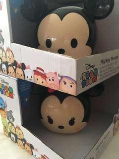 Disney Tsum Tsum Mickey & Minnie Alarm Clocks