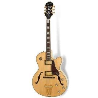 Epiphone Joe Pass Emperor-II Pro Electric Guitar, Natural
