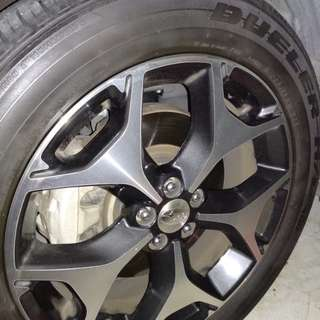 Used tyres.. 225x55xR18