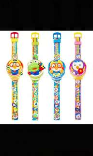 Offer Offer !!! Pororo Authentic Kids Watch Brand New 4 Design Available with music