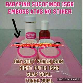 Babypink Sucofindo 15g Original Emboss