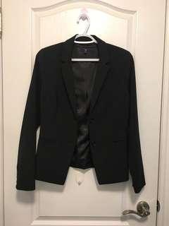 Gap Blazer (Size 6/Black)
