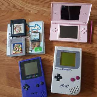 Nintendo Gameboy bundle!