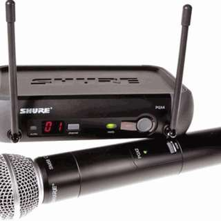 Shure PGX 4 wireless mic