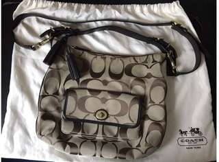 Coach sling/shoulder/handbag