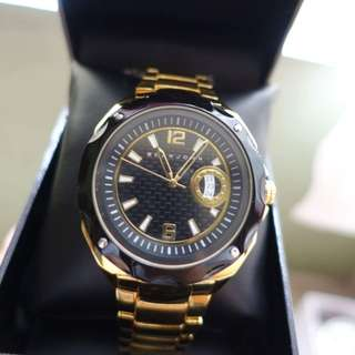 Men's Gold-Toned Watch