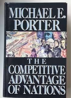 Michael's classic - Differences in national values, culture, economic structures, institutions, and histories all contribute to competitive success, and also because their home environment is the most forward-looking, dynamic, and challenging.