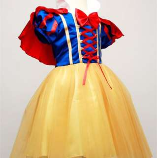 Children Snow White Costume for events / birthday parties