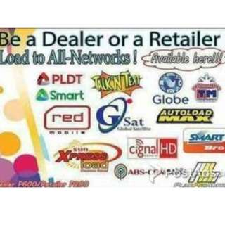 Be a load retailer to all networks