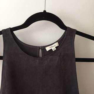 Wilfred faux suede dress (brand new)